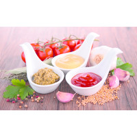 Sauces déshydratées ou liquides et Aides culinaires